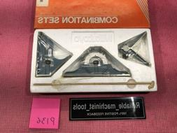 *NEW* MEXICO MADE mitutoyo 12 Inch combination square Set  P