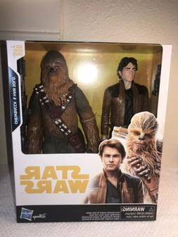 NEW Star Wars Solo: 12-inch Chewbacca and Han Solo Figure 2
