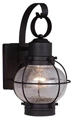 """Vaxcel Vaxcel OW21861TB Chatham 7"""" Outdoor Wall Light, Textu"""