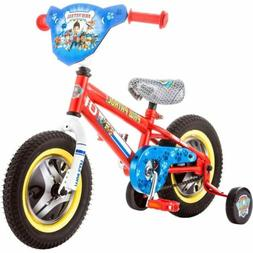 "12"" Paw Patrol Kids Small Bike Inch Girls Boys Toddler Bicyc"