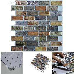Art3d 10-Piece Peel & Stick Kitchen/Bathroom Backsplash Stic