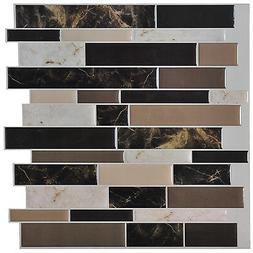 Art3d 6-Pack Peel and Stick Vinyl Sticker Kitchen Backsplash
