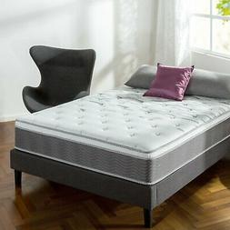 Zinus 12 Inch Performance Plus / Extra Firm Spring Mattress,