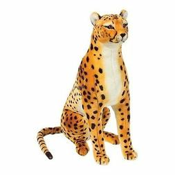 MELISSA & DOUG Plush CHEETAH, Soft & Cuddly Stuffed Animal C
