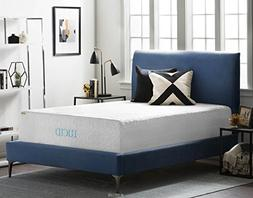 16 Natural Latex and Memory Foam Mattress by LUCID Queen