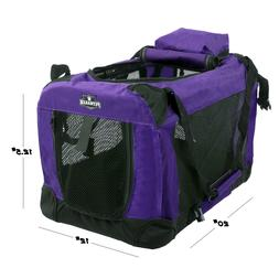 portable pet carrier soft sided puppy kitty