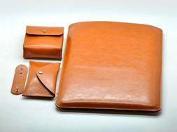 PU Leather Laptop Sleeve Case for MacBook Air/Pro 11/12/13/1