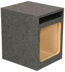 Q Power HD112 12-Inch Single Heavy Duty Vented Square Subwoo