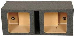 Q Power HD212 12-Inch Dual Heavy Duty Vented Square Subwoofe