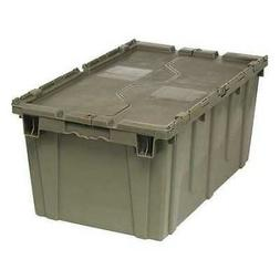 QUANTUM STORAGE SYSTEMS QDC2717-12 Attached Lid Container, 2
