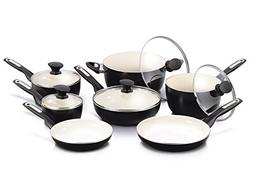GreenPan Rio COOKING SET, 12pc Ceramic Non Stick COOKWARE SE