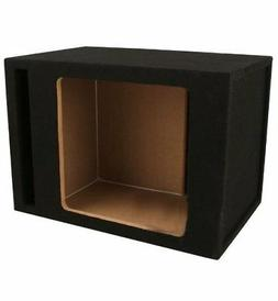 Absolute SKS12V Single 12-Inch Solo-Baric Square Slot-Ported