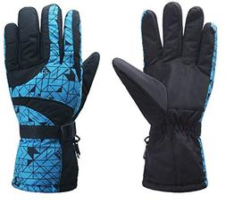 ICOLOR Snowboard Gloves Winter Warm Ski Golve for Outdoor Sp
