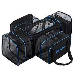 YOUTHINK Soft Crate Roomy Travel Carriers for Pets up to 20