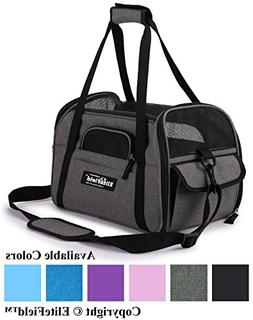 EliteField Soft Sided Pet Carrier , Multiple Sizes and Color