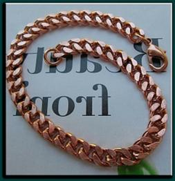 Solid Copper Anklet CA651G - 1/4 of an inch wide - Available