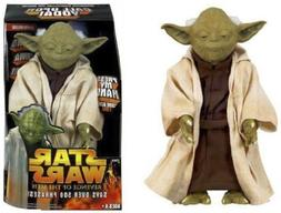 "Star Wars CALL UPON YODA Electronic 12"" Talking Figure over"