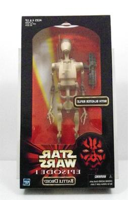 Star Wars Episode 1 Battle Droid with blaster rifle 12 INCH