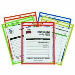 ** Stitched Shop Ticket Holder, Neon, Assorted 5 Colors, 9 x