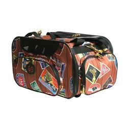 StylishWeekend Traveler Pet Carrier 12 inch long and 7 inc