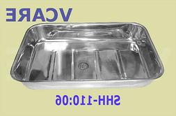 Surgical Tray Without Cover Stainless Steel Size Approx: 18x