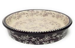 "Temp-tations Layer Cake Pan, Pie Plate, Dish, Baker, 9"", K41"