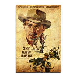 The Wild Bunch Classic Movie Canvas Posters Art Prints 8x12