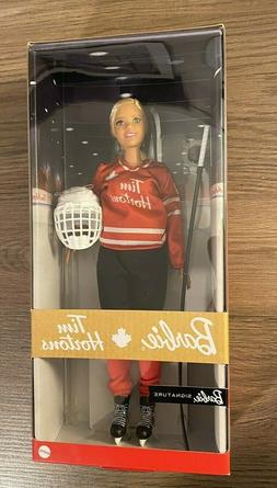Tim Hortons Barbie Doll  Collectible Barbie Signature Hockey