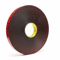 3M Vhb Tape 5925 Black 12 Inch X 36 Yard 25.0 Mil
