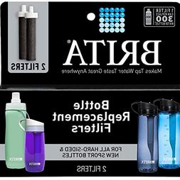 Brita Water Filter Bottle Replacement Filters, 2-Count