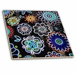 3dRose Whole New World - Ceramic Tile, 12-Inch
