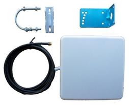 2.4G WiFi 14 dBi Panel Antenna for Wireless IP Camera - 3 Me