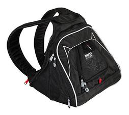 XPack Front Carrier Backpack Car Seat- Color=Black Label 12""