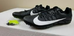 Nike Zoom Rival S 9 Track Shoes Men's Sz 10 Sprint Spikes Bl